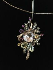 Gold Women's diamond/gemstone Necklace,Le Vian Collection,NWT.