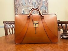 BROOKS BROTHERS Bridle Leather Attorney / Doctor Briefcase - Made In England