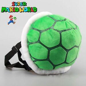 Super Mario Bros. Plush Koopa Troopa Turtle Boys Girls ShoulderBag Backpack Toy
