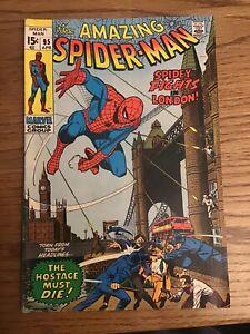 AMAZING SPIDER MAN #95 - SILVER AGE NICE COPY! - NO RESERVE! LOOK!