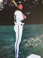 Ken Griffey Jr HOF Signed Auto Autographed 8x10 Photo Seattle Mariners Moeller