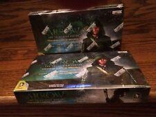 TWO 2014 Cryptozoic Arrow Season 1 Factory Sealed Trading Card HOBBY Boxes