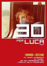 """Il Libro Rosso """"30 per LUCA"""" 1986-2016 Luca Rossi biografia 1°ediz. COLIBRÌ 2016"""