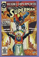 Superman #80 (1993) [Reign of the Supermen] Dan Jurgens, Brett Breeding DC k