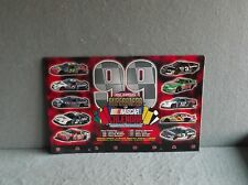 20th Annual SUPERSTARS OF NASCAR 1999 WALL CALENDAR Jeff Gordon Tony Stewart