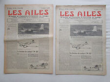 AILES 1940 976 GUERRE WWII FW-187 DEFENSE ARRIERE RYAN CANOT PNEUMATIQUE DINGHY