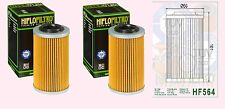 2x HF564 Oil Filter for Buell 1125 R / CR  2009-10