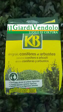 Kb Concime per Conifere ed arbusti 800g Chioma densa piante Rigogliose