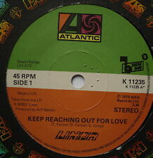 """LINER - Keep Reaching Out For Love - Excellent Con 7"""" Single Atlantic K 11235"""