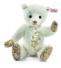 "STEIFF ""LUMIA"" TEDDY BEAR EAN 035272-EMBROIDERED W/ GOLD THREAD & GOLDEN SEQUINS"