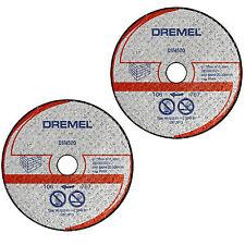 DREMEL 2 x DSM520 Stone/Maçonnerie Coupe Roue/DISQUE/Lame pour DSM20 Scie-Max Outil