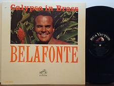 HARRY BELAFONTE Calypso in Brass ORIG 1966 DG RCA/VICTOR MONO LP Howard Roberts