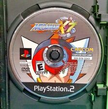 Mega Man X7 - PS2 Playstation 2 Game - Rare  - Tested ! Megaman Capcom X 7