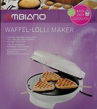 Macchina Per Waffle Waffel 1300 W Luce Posteriore Argento