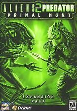 Aliens Versus Predator 2: Primal Hunt (PC, 2002) Jewel Case