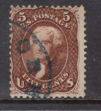USA #75 Used With Blue Cancel
