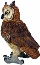 Eulen Figur Uhu Eule Greifvogel Gartenfigur Tierfigur 42cm Kauz