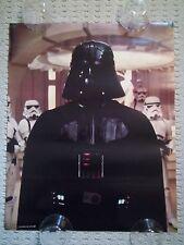 Vintage Original 1980 STAR WARS- THE EMPIRE STRIKES BACK Poster, Darth Vader