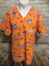 Winnie the Pooh Eeyore plus size scrub top 2x Halloween