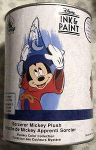 New Disney Ink & Paint Sorcerer Mickey Plush Mystery Color Collection Plush Toy