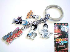 New! Japanese Anime Uzumaki Naruto Keyring Key Ring/Chain Pendant Manga Cosplay