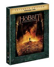 The Hobbit The Desolation of Smaug NEW 5-DISC EXTENDED EDITION DVD SET + BONUS