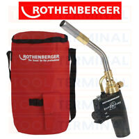 Rothenberger Tool Hot Bag + SuperFire 2 Map Mapp Torch Plumbers Kit