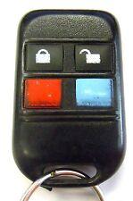 Code Alarm GOH-FOUR keyless entry remote responders start starter replacement