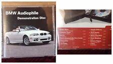 Chesky Audiophile Demonstration BMW CD Disc 2001 Digital DDD  USA Made