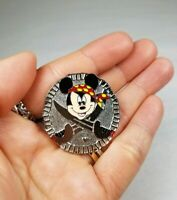 Disney Official Pin Trading Pirate Mickey Mouse Coin 2007 1 of 4 Hidden Mickey