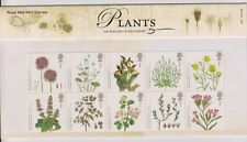 GB 2009 PLANTS  PRESENTATION PACK No. 427 SG:2931-2940 MINT STAMP SET & MS SHEET