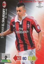U83 STEPHAN EL SHAARAWY AC MILAN  CARD CHAMPIONS LEAGUE ADRENALYN 2013 PANINI
