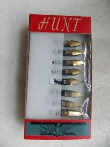 Box of 8 Speedball Flicker Pens Vintage Dip Pen Calligraphy Nibs 0-6