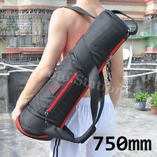 750mm Camera Tripod Carry Bag Travel Light Stand Case Shoulder Strap 29.5 Inch