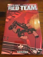 Red Team Graphic Novel Garth Ennis (Dynamite TPB) New Never Read 1st Printing