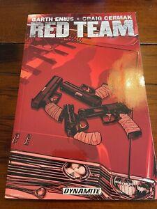 Red Team Graphic Novel Garth Ennis (Dynamite TPB) New Never Read 1st Printing
