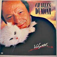 ++CHARLES DUMONT volupté LP 1985 EMI la musique/la vagabonde RARE EX++