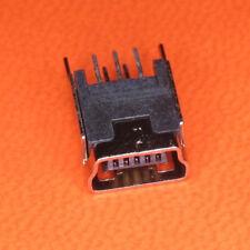 5 Stück USB Kupplung, Einbaubuchsen, Mini, Printmontage, Stehend  2 Beine, Lade.