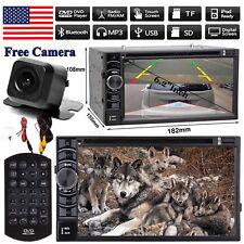 2Din Car CD DVD Stereo Camera Radio Bluetooth For Kia Optima Soul Forte Sportage