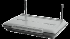 Belkin F5D7230-4 54 Mbps 4-Port 10/100 Wireless G Router - NEW