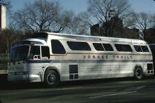Yankee Tours Gm Pd 4903 bus Kodachrome original Kodak slide
