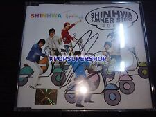 Shinhwa 2005 Summer Story CD Great Cond. Rare OOP Autographed by ERIC TVXQ JYJ