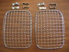 Head Light Protectors Chrome Chevy Express Ford E350 Rectangular Headlight Guard