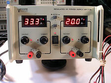 VECTOR-VID DIGITAL  DC POWER SUPPLY MODEL WP-713B