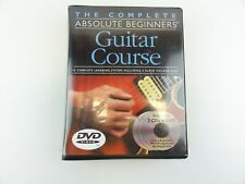 Complete Absolute Beginners Guitar Course 2 CDS DVD Chord Chart Book