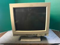 Vintage Apple Multiple Scan 1705 Display Monitor with Keyboard and Mouse