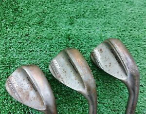 Cleveland RTX Zip Core Tour Rack wedge set 50,54,58, DG spinner wedge excellent