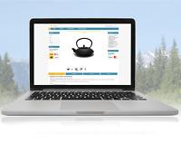 eBay Template 2021 Auktionsvorlage Design Basic gelb/blau + kostenloser Editor