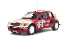 Otto Mobile Belga Peugeot 205 T16 Groupe B 1:18 3#3 Darniche / Mahé Rallye Ypres