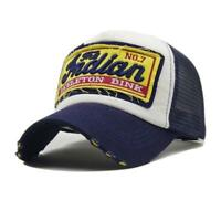 Men's Baseball Cap Women Snapback Hats Embroidery Mesh Indian Summer Hat Caps